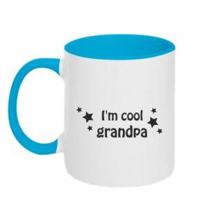 Kubek dwukolorowy I'm cool grandpa