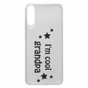 Phone case for Samsung A70 I'm cool grandpa