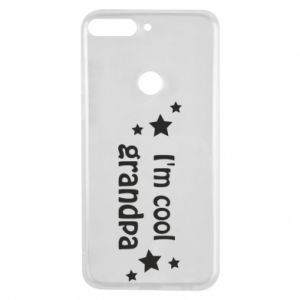 Phone case for Huawei Y7 Prime 2018 I'm cool grandpa