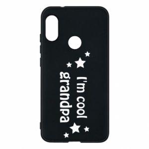 Phone case for Mi A2 Lite I'm cool grandpa