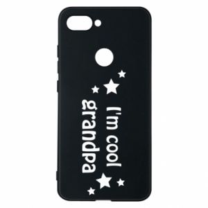 Phone case for Xiaomi Mi8 Lite I'm cool grandpa