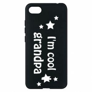 Phone case for Xiaomi Redmi 6A I'm cool grandpa