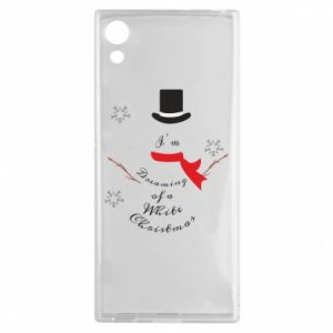 Sony Xperia XA1 Case I'm dreaming of a white Christmas