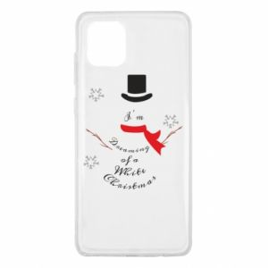 Samsung Note 10 Lite Case I'm dreaming of a white Christmas
