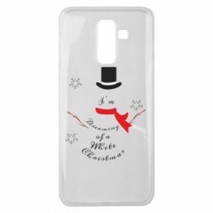 Samsung J8 2018 Case I'm dreaming of a white Christmas