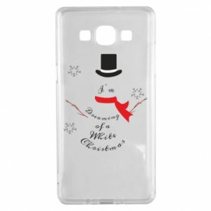 Samsung A5 2015 Case I'm dreaming of a white Christmas