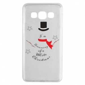 Samsung A3 2015 Case I'm dreaming of a white Christmas