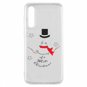 Huawei P20 Pro Case I'm dreaming of a white Christmas