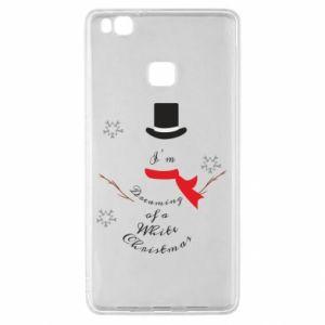 Huawei P9 Lite Case I'm dreaming of a white Christmas
