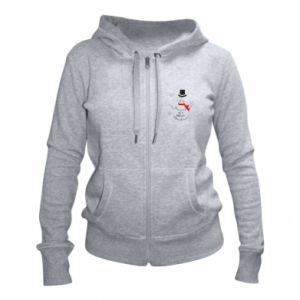 Women's zip up hoodies I'm dreaming of a white Christmas