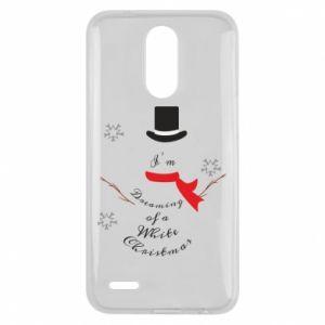 Lg K10 2017 Case I'm dreaming of a white Christmas