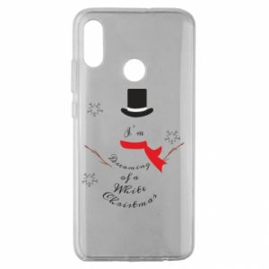 Huawei Honor 10 Lite Case I'm dreaming of a white Christmas