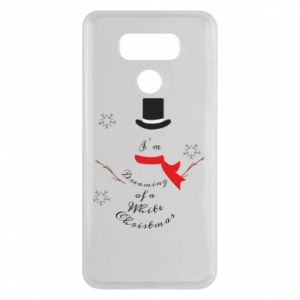 LG G6 Case I'm dreaming of a white Christmas