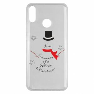Huawei Y9 2019 Case I'm dreaming of a white Christmas