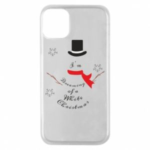 Etui na iPhone 11 Pro I'm dreaming of a white Christmas