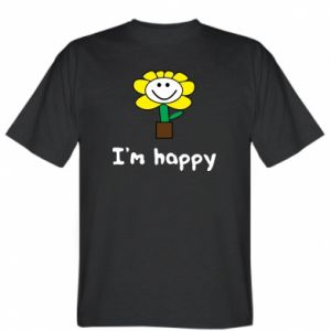 T-shirt I'm happy