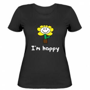 Women's t-shirt I'm happy