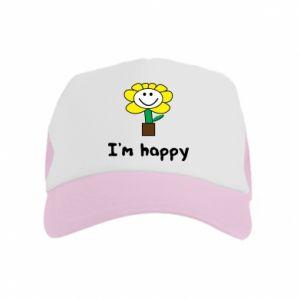 Kid's Trucker Hat I'm happy