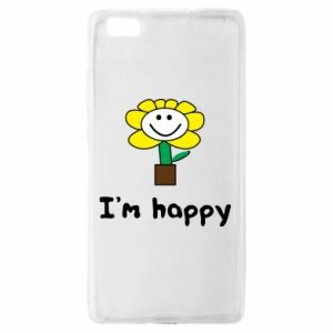 Huawei P8 Lite Case I'm happy