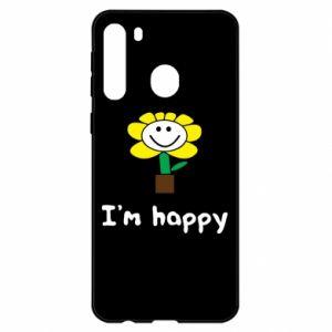Samsung A21 Case I'm happy