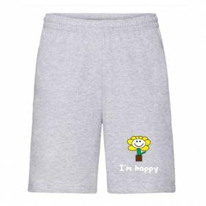 Men's shorts I'm happy