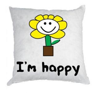 Pillow I'm happy