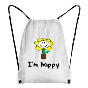 Plecak-worek I'm happy