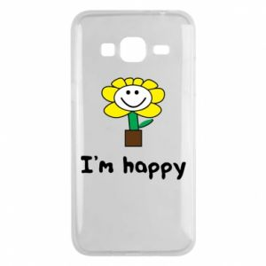 Phone case for Samsung J3 2016 I'm happy