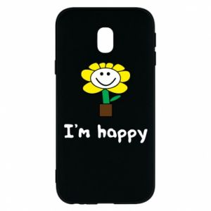 Phone case for Samsung J3 2017 I'm happy