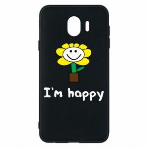 Etui na Samsung J4 I'm happy