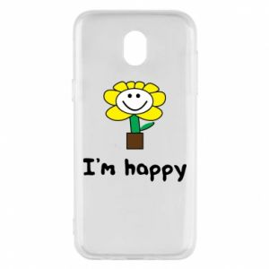 Phone case for Samsung J5 2017 I'm happy