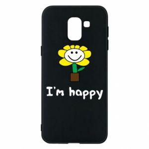 Etui na Samsung J6 I'm happy