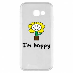 Phone case for Samsung A5 2017 I'm happy