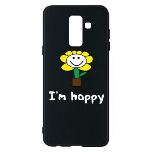Phone case for Samsung A6+ 2018 I'm happy