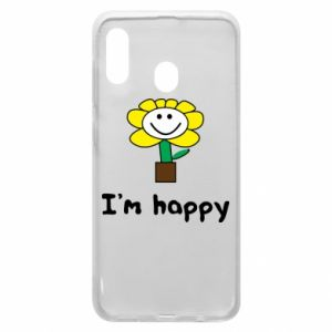 Phone case for Samsung A30 I'm happy