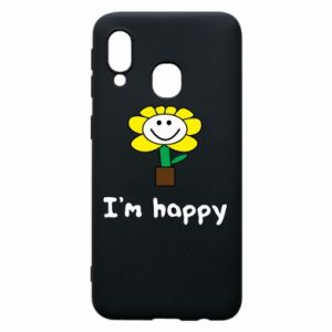 Phone case for Samsung A40 I'm happy