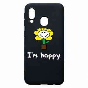 Etui na Samsung A40 I'm happy