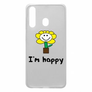 Phone case for Samsung A60 I'm happy