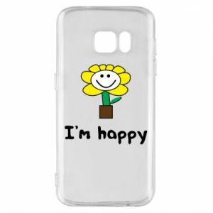Etui na Samsung S7 I'm happy