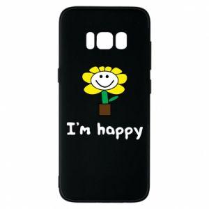 Etui na Samsung S8 I'm happy
