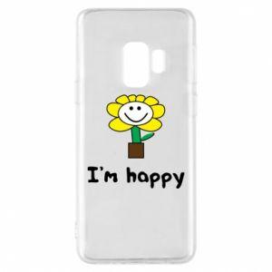 Etui na Samsung S9 I'm happy