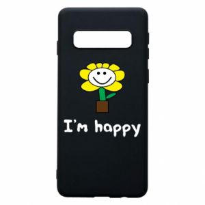 Phone case for Samsung S10 I'm happy