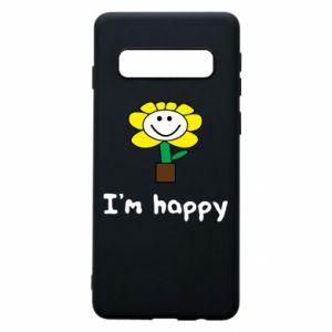 Etui na Samsung S10 I'm happy