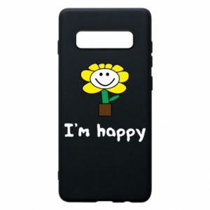 Phone case for Samsung S10+ I'm happy