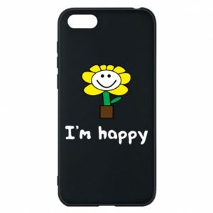 Phone case for Huawei Y5 2018 I'm happy