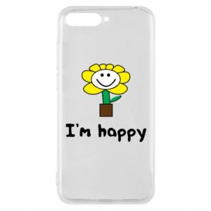 Phone case for Huawei Y6 2018 I'm happy