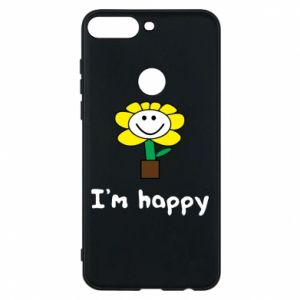 Phone case for Huawei Y7 Prime 2018 I'm happy
