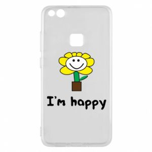 Phone case for Huawei P10 Lite I'm happy