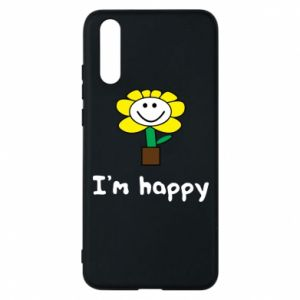 Phone case for Huawei P20 I'm happy
