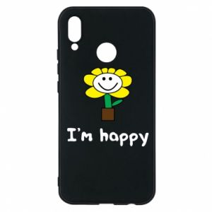 Phone case for Huawei P20 Lite I'm happy